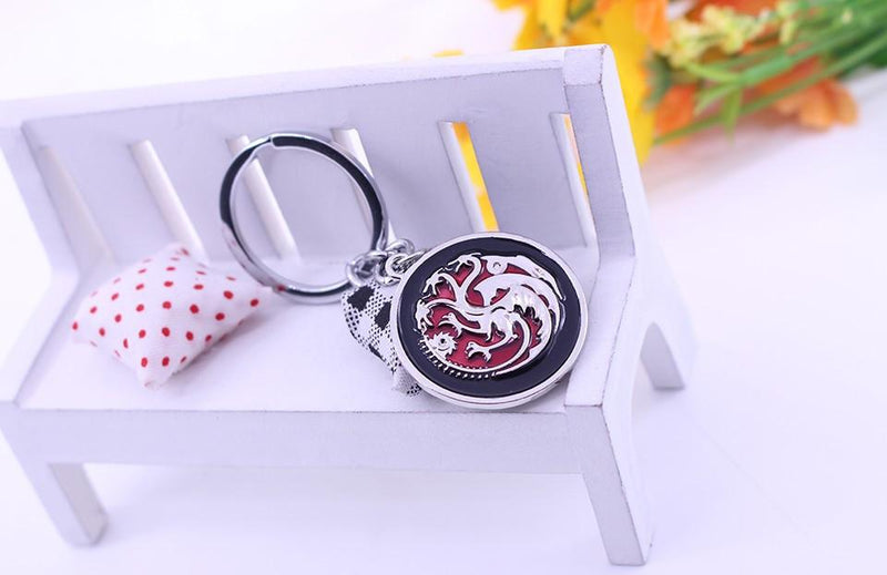 PORTE-CLÉ DRAGON TARGARYEN GAME OF THRONES - LIVRAISON GRATUITE !