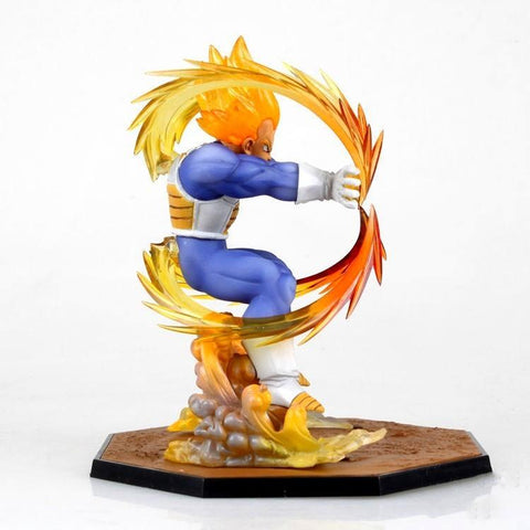 FIGURINE SUPER SAIYAN VEGETA (15CM) DRAGON BALL Z - LIVRAISON GRATUITE !