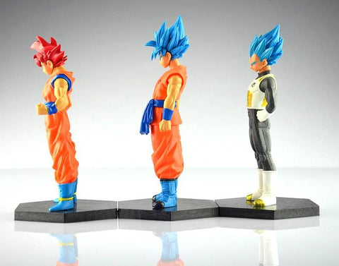 1 LOT DE 6 FIGURINES DRAGON BALL SUPER (12-13CM) - LIVRAISON GRATUITE !