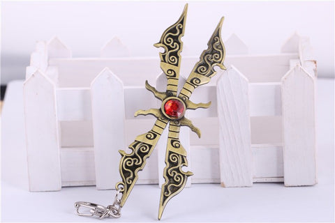 PORTE-CLÉ ARME DE IRELIA (12 CM) LEVIN LEAGUE OF LEGENDS- LIVRAISON GRATUITE !