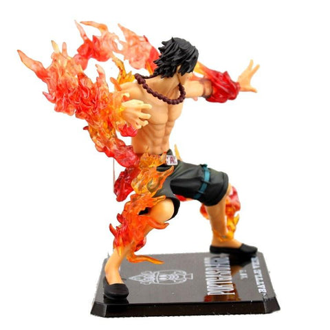 FIGURINE PORTGAS D.ACE BATTLE VERSION (15CM) ONE PIECE - LIVRAISON GRATUITE !