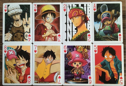 "CARTE MONKEY-D-LUFFY ""WANTED DEAD OR ALIVE"" ONE PIECE - LIVRAISON GRATUITE !"