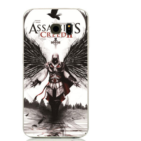 COQUE ASSASSIN'S CREED POUR SAMSUNG GALAXY (3 COLORS SKIN COVER) -