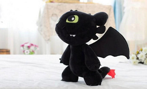 "PELUCHE KROKMOU ""HOW TO TRAIN YOUR DRAGON"" 18 CM - LIVRAISON GRATUITE !"