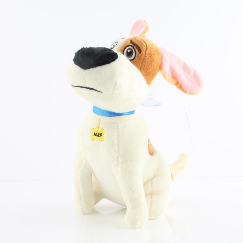 PELUCHE CHIEN JACK RUSSEL TERRIER THE SECRET LIFE OF PETS - LIVRAISON GRATUITE