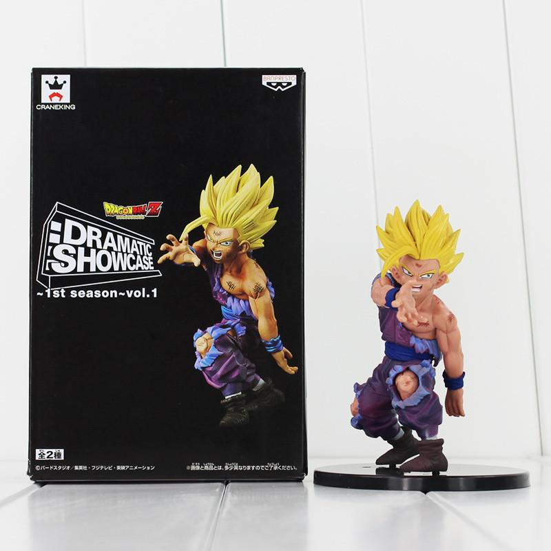 FIGURINE SON GOHAN 11 CM DRAMATIC SHOWCASE DRAGON BALL Z  - LIVRAISON GRATUITE