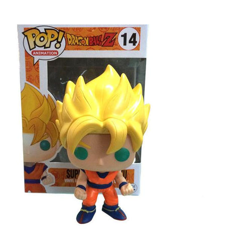 FIGURINE DRAGON BALL Z SON GOKU SUPER SEIYA - LIVRAISON GRATUITE !