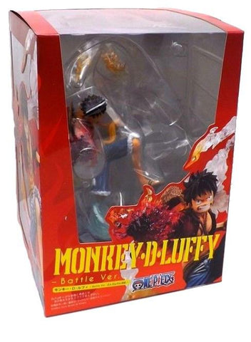 FIGURINE LUFFY BATTLE VERSION ONE PIECE - LIVRAISON GRATUITE !