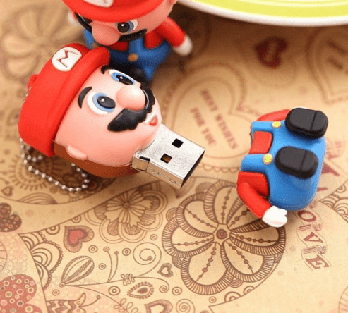 cl usb mario 2 0 flash drive 2gb 4gb 8gb 16gb 32gb. Black Bedroom Furniture Sets. Home Design Ideas