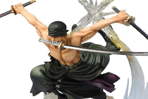 FIGURINE ZORO BATTLE VERSION ONE PIECE - LIVRAISON GRATUITE !