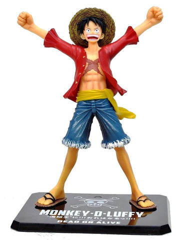 FIGURINE LUFFY NEW WORLD (15CM) ONE PIECE - LIVRAISON GRATUITE !