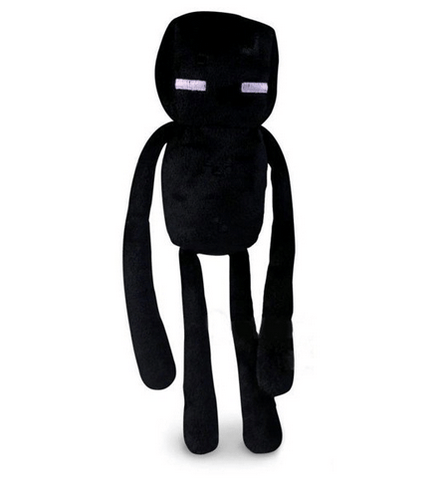 PELUCHE MINECRAFT - ENDERMAN NOIR