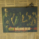 "DÉCORATIONS MURALES AUTOCOLLANTES ""THE WALKING DEAD"""