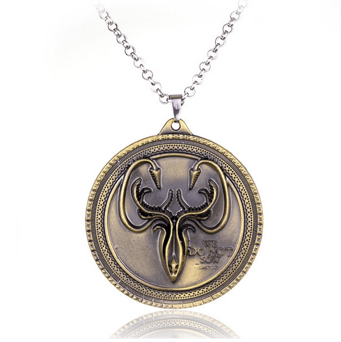 COLLIER PENDENTIF GAME OF THRONES - MAISON GREJOY