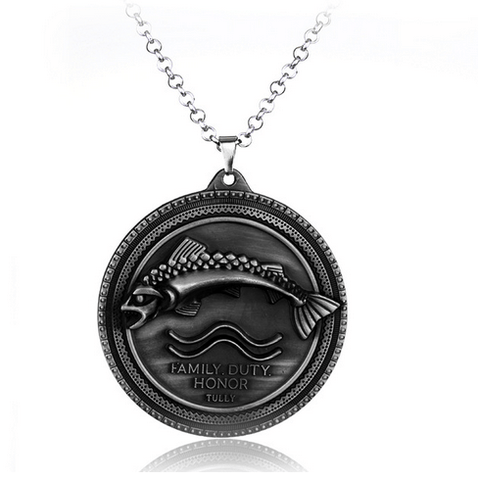 COLLIER PENDENTIF GAMES OF THRONES - MAISON TULLY
