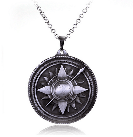 COLLIER PENDENTIF GAME OF THRONES - MAISON MARTELL