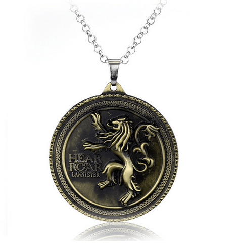 COLLIER PRENDENTIF GAME OF THRONES - MAISON LANNISTER