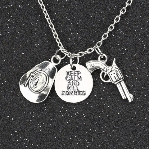 COLLIER PENDENTIF THE WALKING DEAD