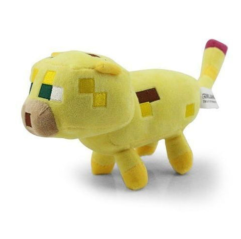 PELUCHE MINECRAFT - YELLOW OCELOT