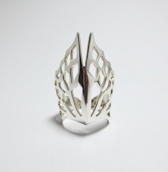 Avaruim Silver stackable ring