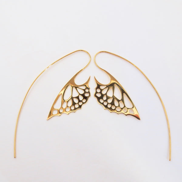 Gold Avarium Earrings