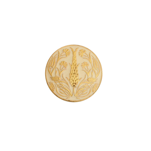 Shalimar button set - Ivory