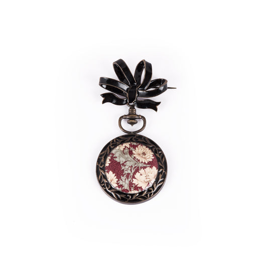 Ora Brooch - Vintage Black