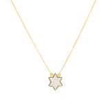 Star mother of pearl neck chain