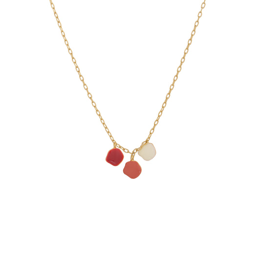 Izu neck chain - Red