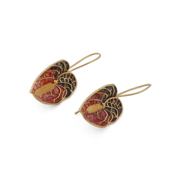 Anthurium Earrings - AZGA