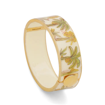 Palm tree Handpainted Openable Bangle