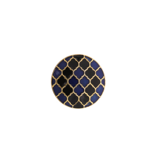 Moroccan Blue and Black