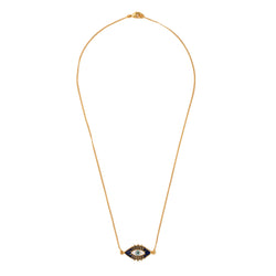 Evil Eye Neck Chain - Gold