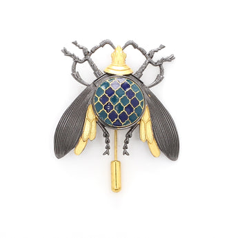 Moroccan Insect Brooch