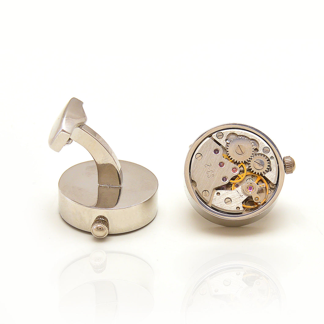 Time machine cufflinks