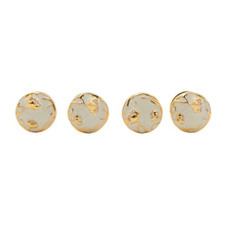 Bloom Ivory Shirt Studs - AZGA