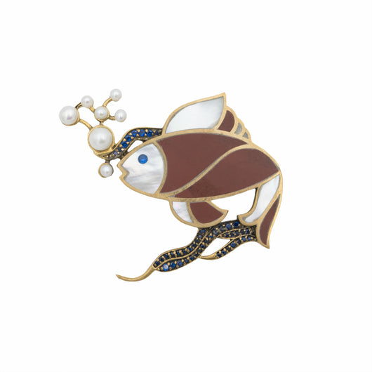 Fish Brooch - AZGA