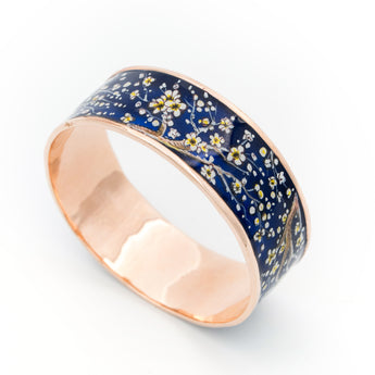 Blossom Handpainted Bangle - AZGA