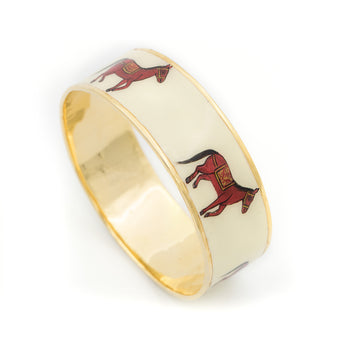 Horse Handpainted Bangle - AZGA