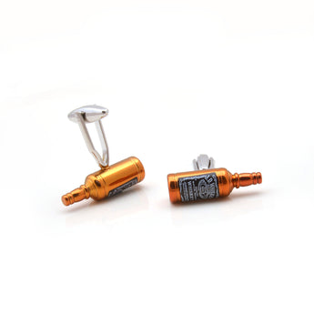 Whiskey bottle Cufflink
