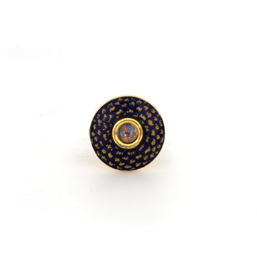 Handpainted Gold Highlighted Buttons