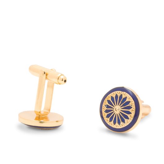 The Kutch Cufflinks - Blue