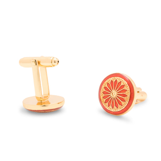 The Kutch Cufflinks - Maroon