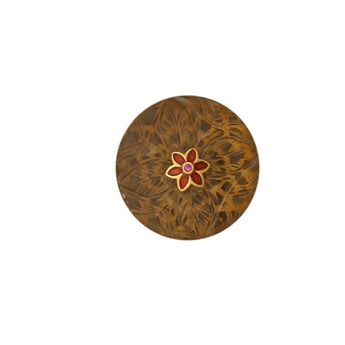 Mughal carving button set