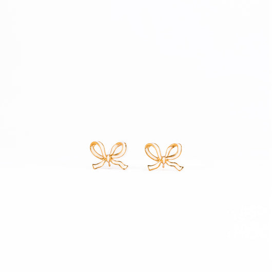 Little Bow earrings - Ivory