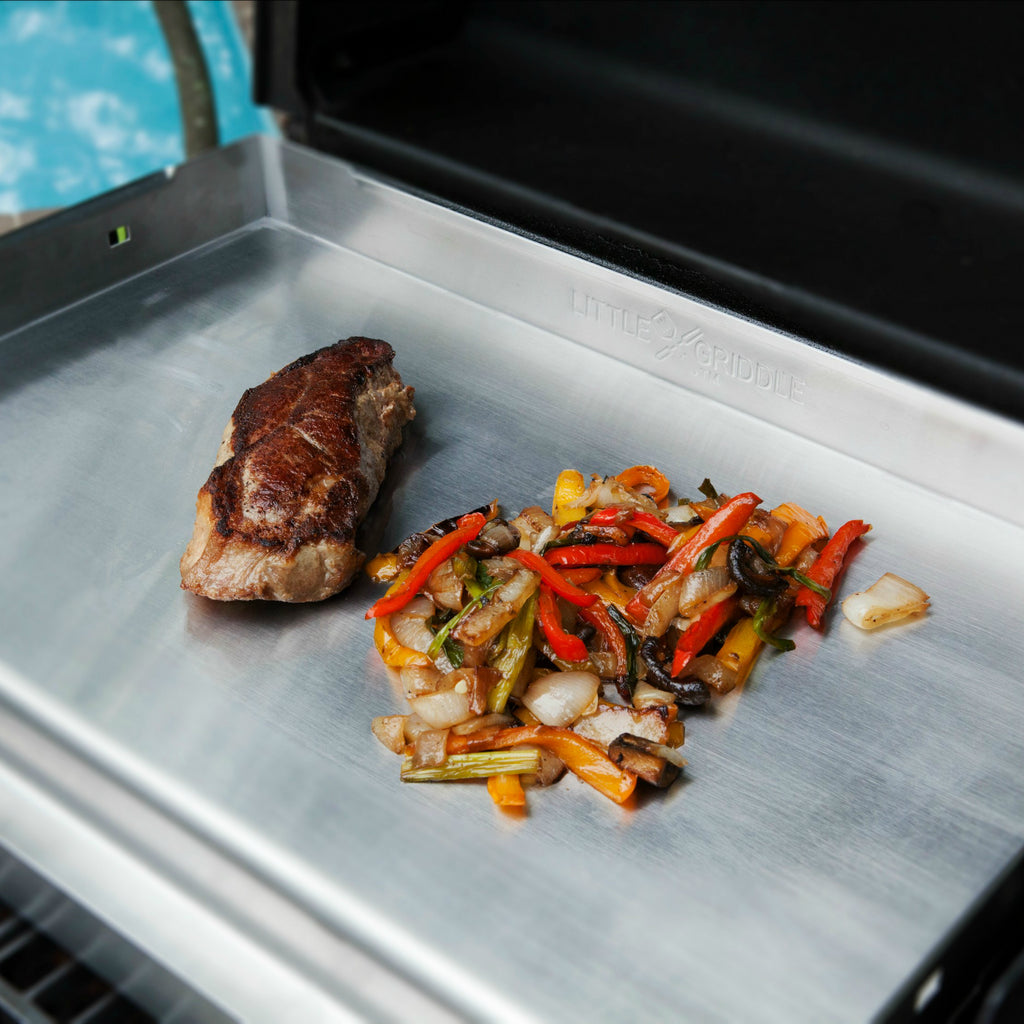 Recipe Idea: Teppanyaki Steak and Garlic-Seared Vegetables