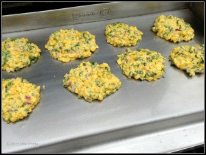 "Recipe Idea: ""Cilantro Pepper Corncakes"""