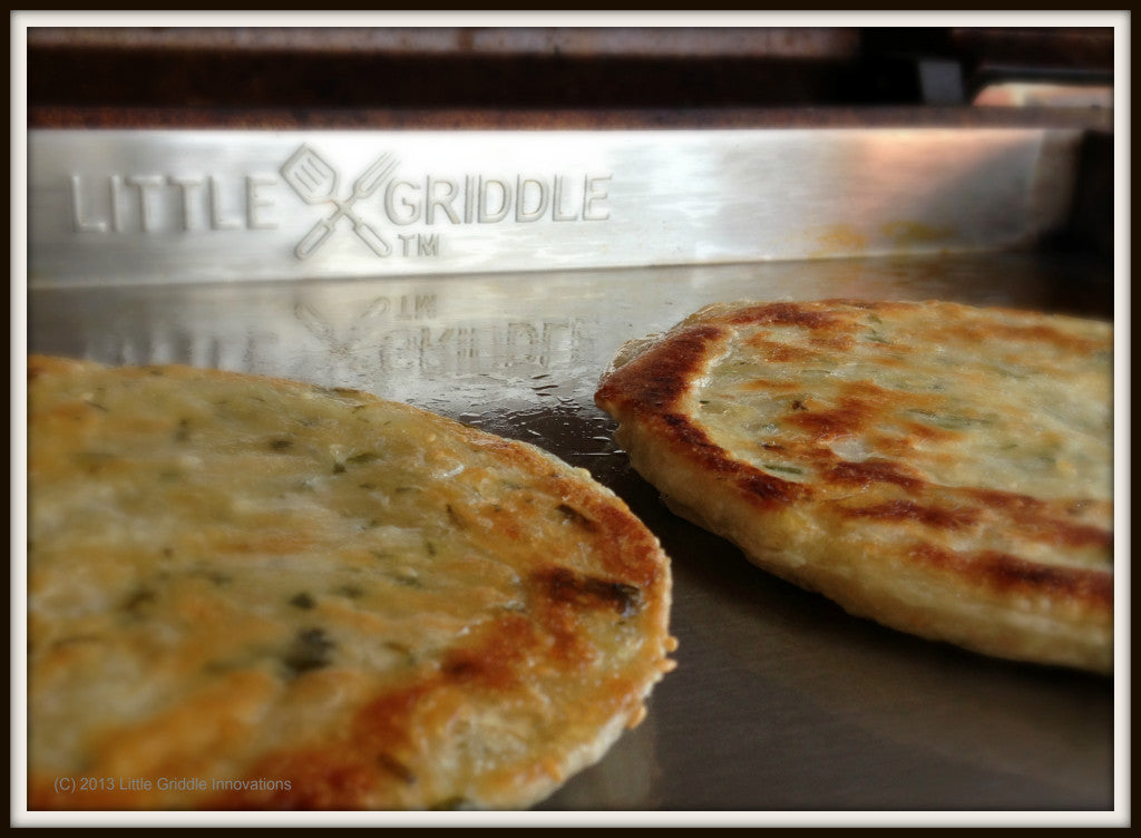Scallion Pancake Flipped
