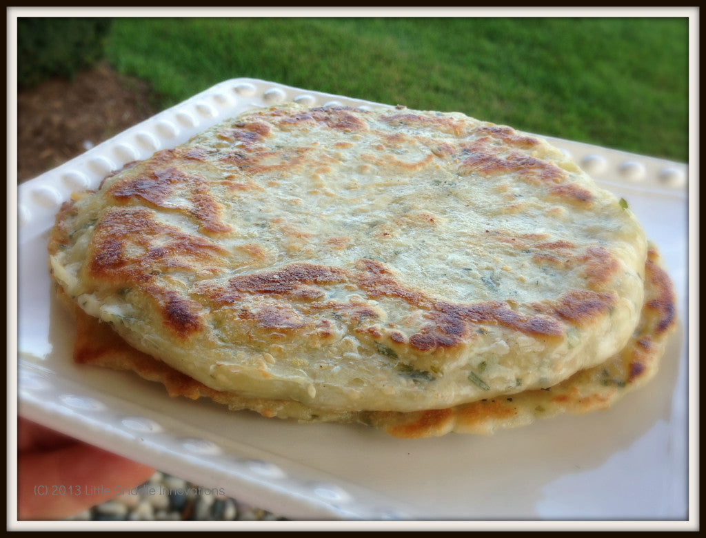 Scallion Pancakes Fresh off the Griddle
