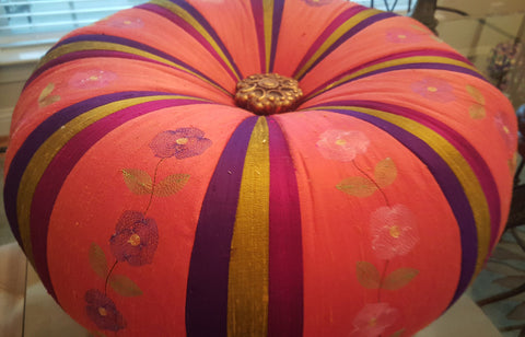 Custom Tuffets by That's Sew Marti! - Savory Silk Dupioni